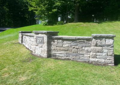 thestoneman.ca-Dry_laid_stone_entrance_wall