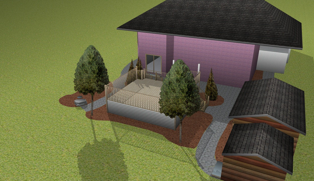 Full property makeover with 3d design