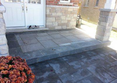 thestoneman_square-cut_flagstone_front_stoop